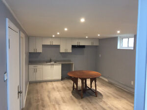 Newly renovated 3 bedroom apartment.