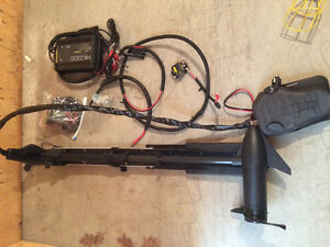 Minn Kota 24v trolling motor and charger