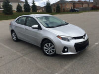 2015 TOYOTA COROLLA S ONLY 1550KM LEATHER, BACK UP CAMERA