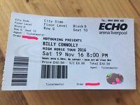 2 x Billy Connolly Tickets Liverpool Sat 19/11 Nov