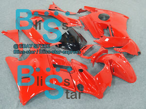 Red-Glossy-ABS-Fairing-With-Tank-Cover-Kit-Fit-HONDA-CBR600F2-1991-1994-25