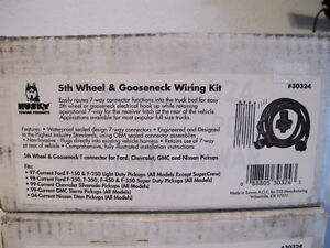 Husky 5th Wheel & Gooseneck Wiring Harness Part No. 30324