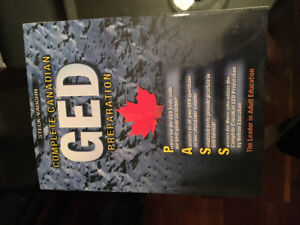 GED TEXTBOOK - COMPLETE CANADIAN GED PREPARATION HANDBOOK