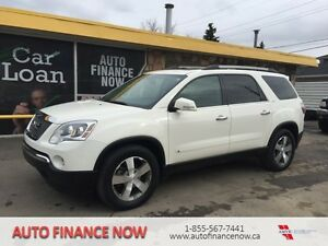 2010 GMC Acadia SLT AWD LEATHER LOADED IN HOUSE FINANCING CALL
