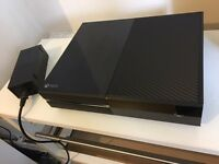 XBOX ONE VERY GOOD CONDITION