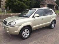 2006 06 HYUNDAI TUCSON 2.0 CRDT CDX TURBO DIESEL 4x4 6 SPEED MANUAL 5 DOOR HATCH