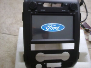 ford f150 hd touchscreen gps bluetooth radio audio dvd player