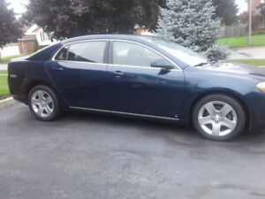 2009 Malibu........comes with winter tires!