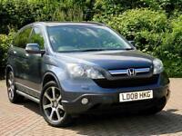 "2008 08 Honda Cr-V 2.2 i-CDTi EX WITH FSH+PANROOF+SATNAV+LEATHER+19"" WHEELS+"