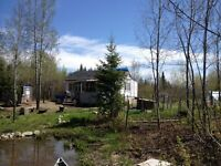 Property with camp northern Ontario