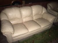 FREE 2 SEAT SOFA AND CHAIR