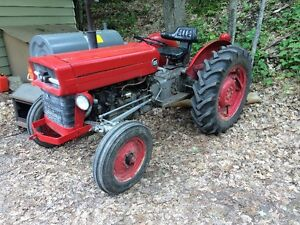 Massey Ferguson 135 tractor with loader
