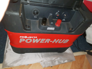 Portable Power-Hub with battery and charger