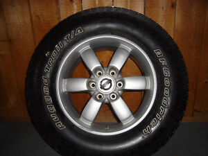 2012 Nissan Truck Rim and Tire - MAKE OFFER