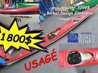 Kayak de mer, Boreal Design Ellesmere (fibre)
