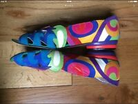 Beverly Feldman Colourful Shoes-Sandals 4UK used