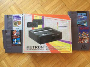 BRAND NEW Hyperkin Retron  (Black) +4 NES games CHEAP!!!