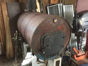 Wood stove -  barrel stove