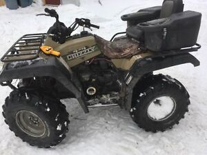 1999 Yamaha Grizzly