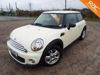 MINI HATCH ONE 2011 Petrol Manual in White