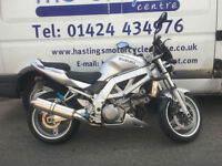 Suzuki SV1000 V Twin Muscle Bike / Street Fighter / Nationwide Delivery