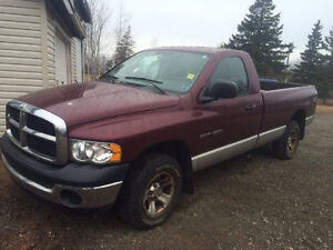 2003 Dodge Other ST Pickup Truck, With cap $3400.  [ SOLD ]