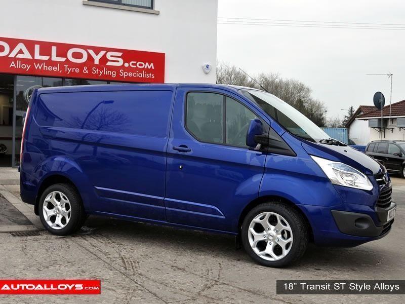 18 Quot Transit St Alloy Wheels For Ford Transit Van Load