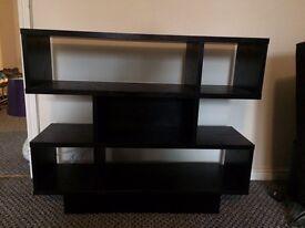 Black living room furniture home cubes
