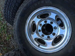 Stock 99-04 Ford aluminum wheels