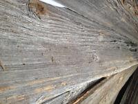 planche grise de grange, grey barn wood La Vieille Planche
