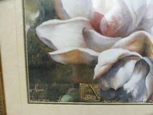 Framed Flower picture Strathcona County Edmonton Area image 2