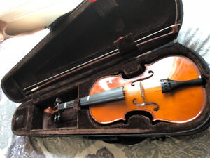 HARDLY USED SOUTH INDIAN VEENA + VIOLIN FOR SALE