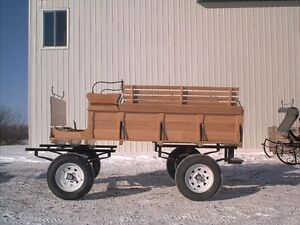 Carriages , wagon, sleighs , carts all new made to order! Windsor Region Ontario image 9