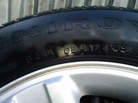 Ford F-150 - 4 Factory Rims with 4 Tires