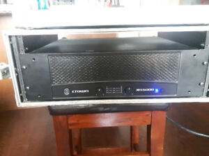 Crown XLS 5000 Power Amplifier with Case