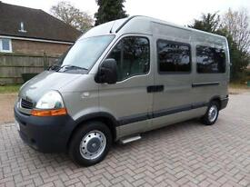 Renault MASTER MM33 Automatic 3 Three Wheelchair Access Ricon Lift WAV Minibus