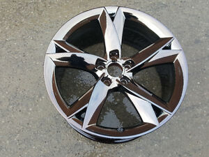 "OEM Audi 19"" PVD black chrome"
