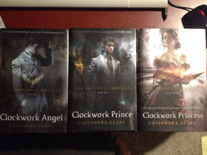 Hardcover, The Infernal Devices series $24