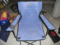 Three Folding Camping Chairs