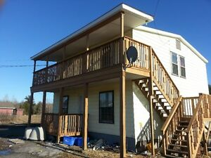 Hanmer area- 1 bedroom apartments-main floor-now or January 1st