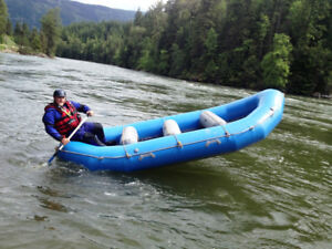 AIRE 14' E Series raft with 3 thwarts