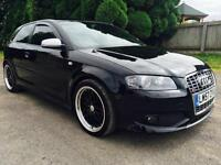 2008 Audi S3 2.0T Quattro, Black, Good spec!