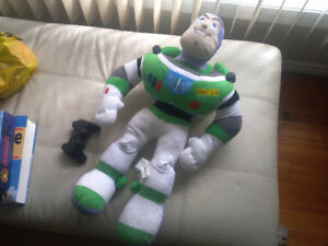 BUZZ LIGHTYEAR Disney Toy Story big 26'' Plush Stand Toy