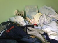 Baby boys clothes 60 items