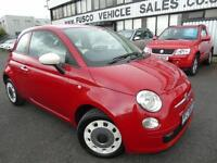 2013 Fiat 500 1.2 Colour Therapy - Red - 12 months PLATINUM WARRANTY + LOW MILES