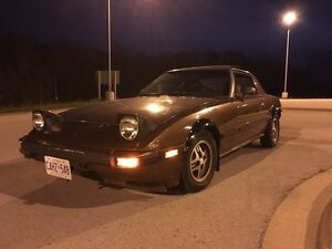 1984 Mazda rx7  -2.3 Ford turbo with t5