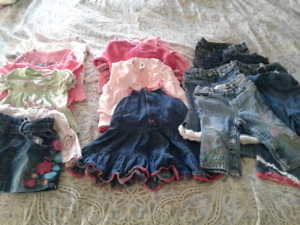 Girl clothes lot #1