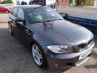 2008 57 BMW 1 SERIES 2.0 123D M SPORT 5D 202 BHP DIESEL