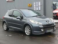 2009 PEUGEOT 207 1.6 HDi 110 GT 3dr very clean new MOT
