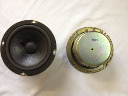 BOSE 12.5cm or 4.92Inches 2x SPEAKER COMPONENTS - Very Cheap !!